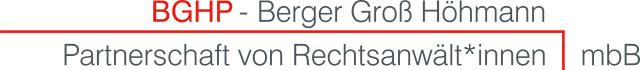 BGHP - Berger Groß Höhmann Partnerschaft von Rechtsanwält*innen mbB